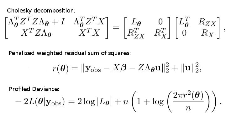 Dissecting lme4's lmer function  Part 2  – Alexej Gossmann